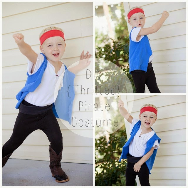 #thriftscorethursday Week 39 | Instagram user: restlessarrow shows off this Thrifted Pirate Halloween Costume
