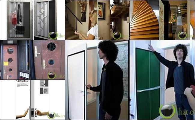 10 Desain Pintu Terunik sekaligus Multifungsi