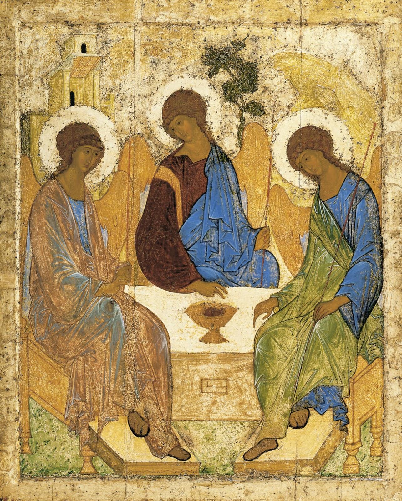 Rublev, la Trinidad, 1422