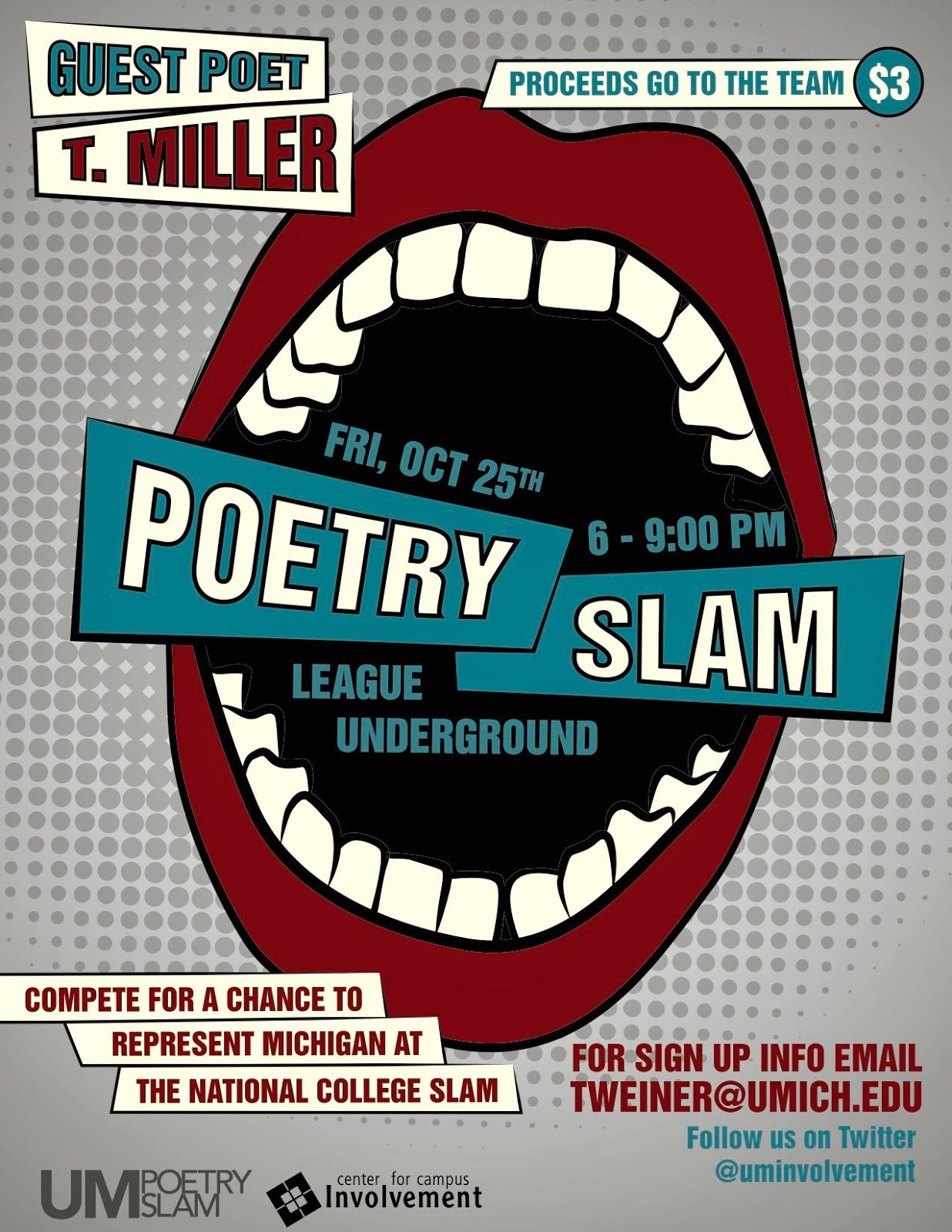 Storia Libertà Espressione Slam TMiller Poetry Slam