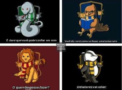 Harry potter ever casas de hogwarts - Test de harry potter casas ...