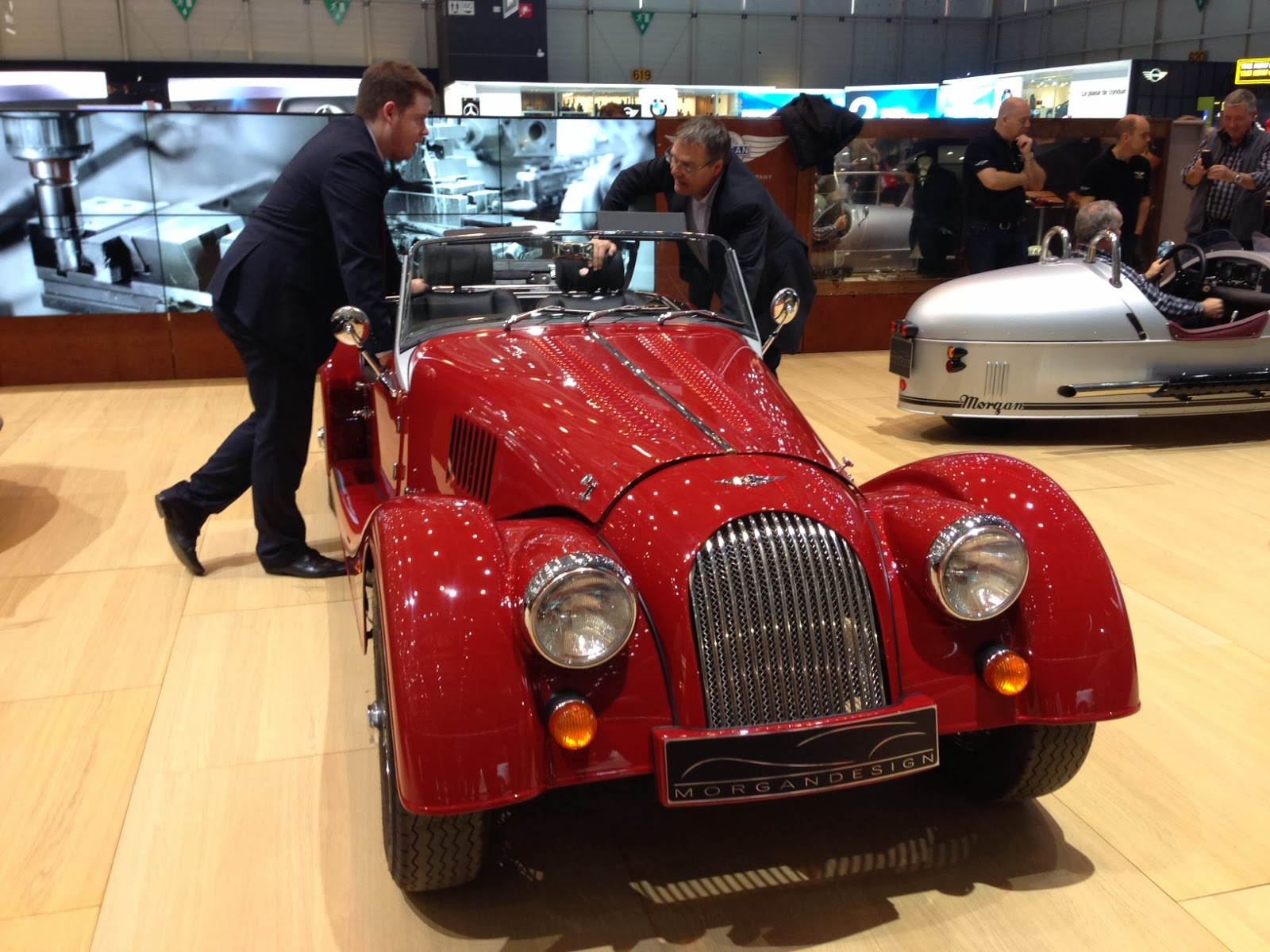 Morgan Motors at the Geneva Motor Show