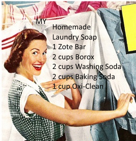 Homemade Laundry Soap Post