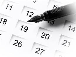Calendário de eventos do ES