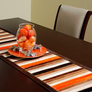 Tapetes y caminos de mesa perfectos para tu hogar for Adornos para mesa de comedor rectangular