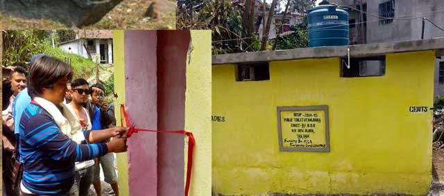 Public toilet in nalidara inaugurated