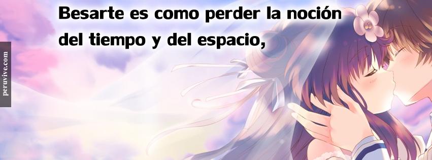 PARA TU FACE: Portada facebook anime amor