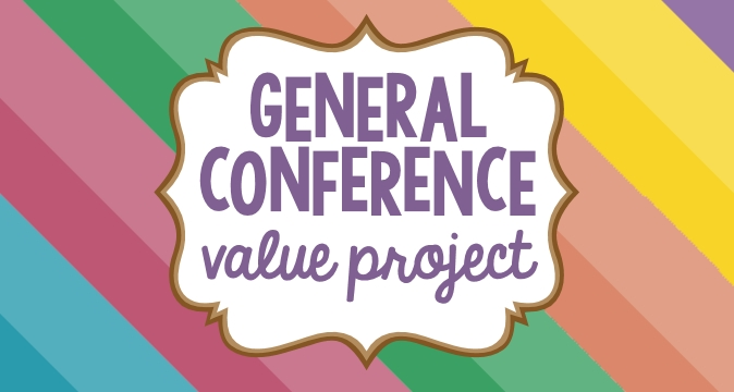 General Conference 10 Hour Personal Progress Value Project