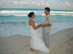 Renewal of Vows- 25th Anniversary in Cancun, Mexico