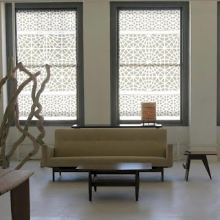 Moorish Pattern Window Covering