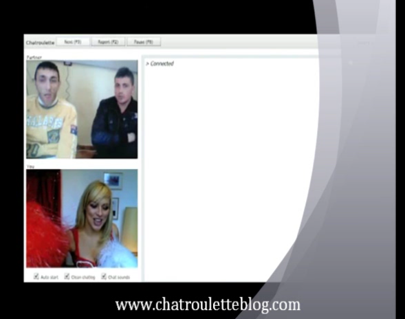 Chatroulette video, chatroulette şakaları, chatrulet