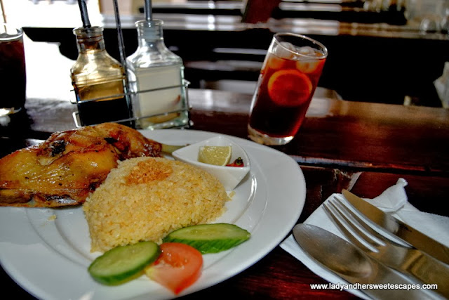 Lunch at Bacolod Chk-n-BBQ House