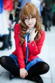 Merino Moko Cosplay as Aisaka Taiga from Toradora!