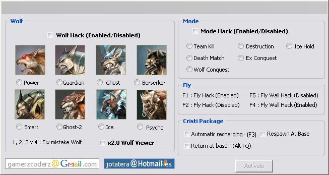 Wolfteam Kurt – Envanter – Ucma – Wallhack – Return – Combo – v11.10.20 indir – Download