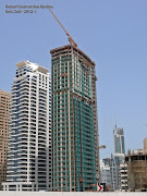 Escan Marina Tower construction photos, Dubai Marina , 6/July/2012 (dubai marina )