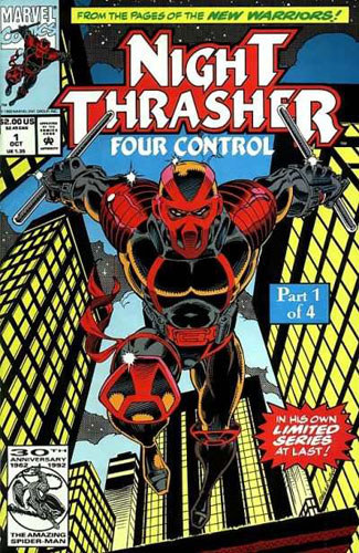 15 Superhero Terburuk di Dunia Komik: Night Trasher