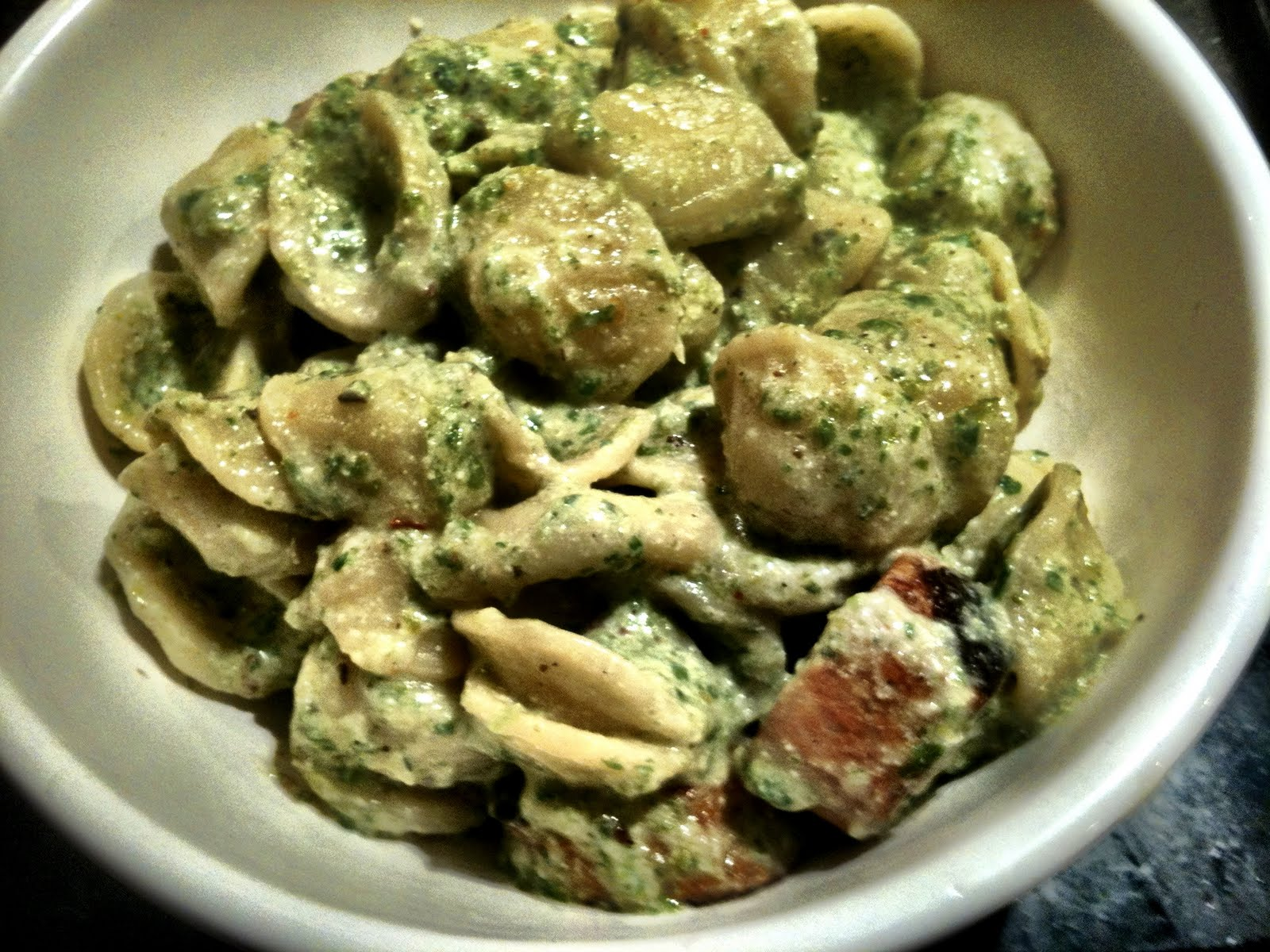 Honey, What's for Dinner?: Orecchiette with Broccoli Rabe ...