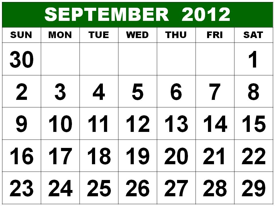 january calendar 2012. Calendar 2012 Printable