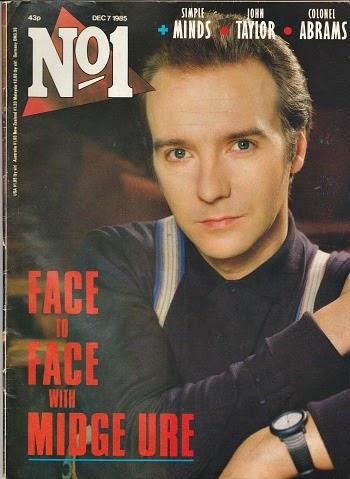 No1 Magazine Dec 1985 ft. Midge Ure