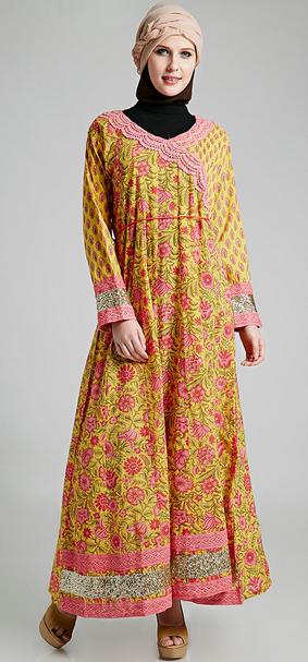 Contoh Dress Muslim untuk Perempuan