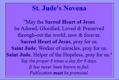 St. Jude Worker of Miracles