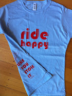 New Ride Happy Tees are here!