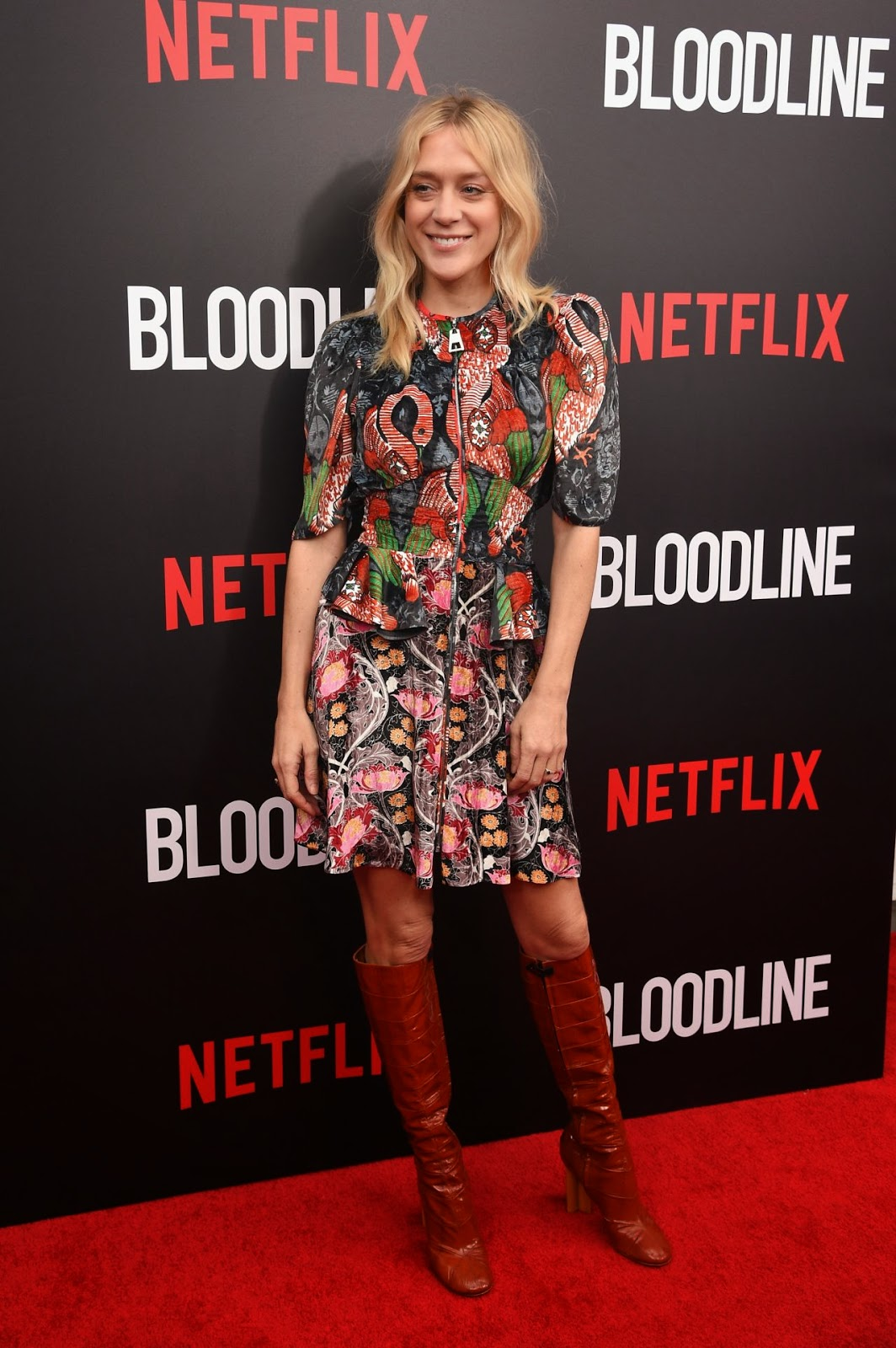 Actress, Fashion Designer, Model @ Chloe Sevigny - 'Bloodline' New York Series Premiere in NYC