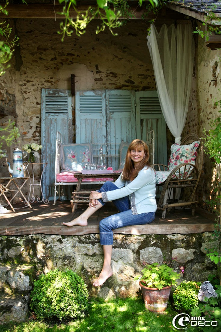Une ancienne grange tr s shabby e magdeco magazine de d coration - Decoration de charme ...