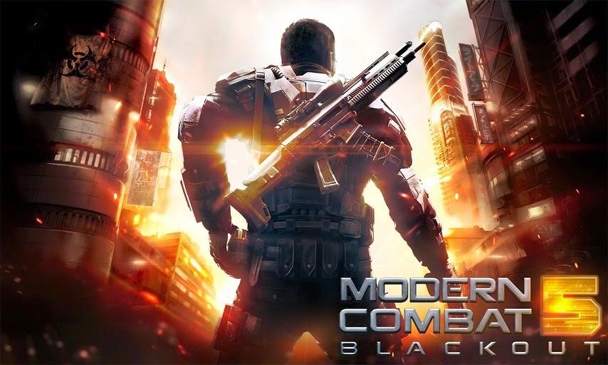Modern Combat 5: Blackout v1.0.2f APK
