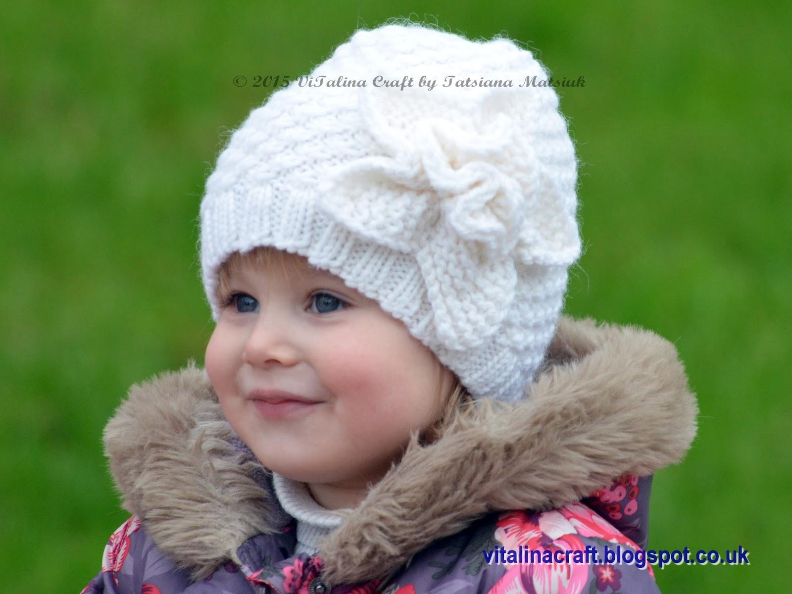 Frozen Flower Hat | ViTalina Craft