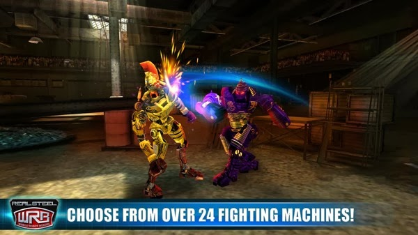 Android Game Real Steel World