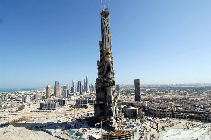 world visits dubai tallest building in the world. Black Bedroom Furniture Sets. Home Design Ideas