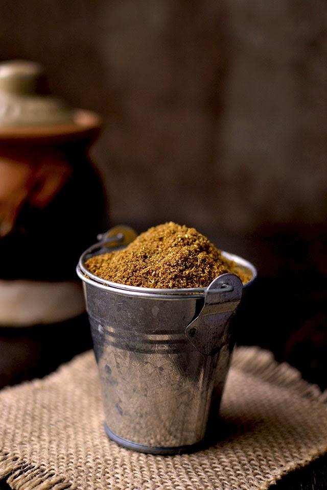 Homemade Mysore rasam powder
