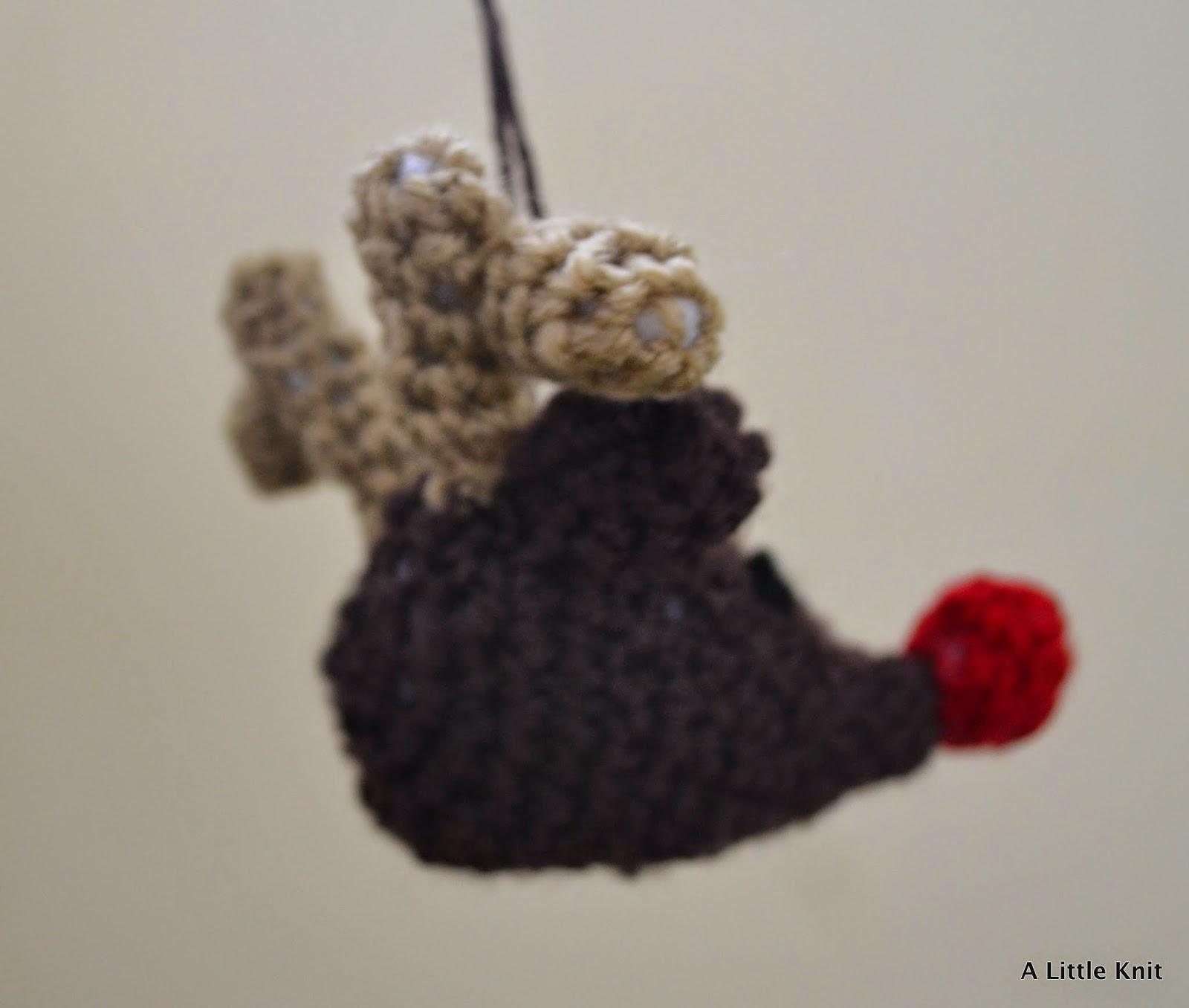 Crochet Rudolph