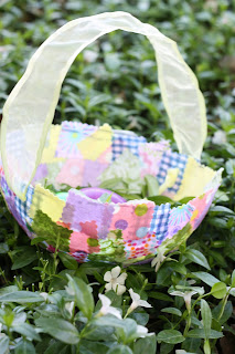 IMG 2300 Fabric Collage Easter Baskets