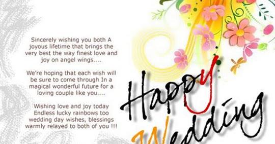 Kata Kata Ucapan Selamat Pernikahan Lucu Untuk Sahabat Terbaru 2015