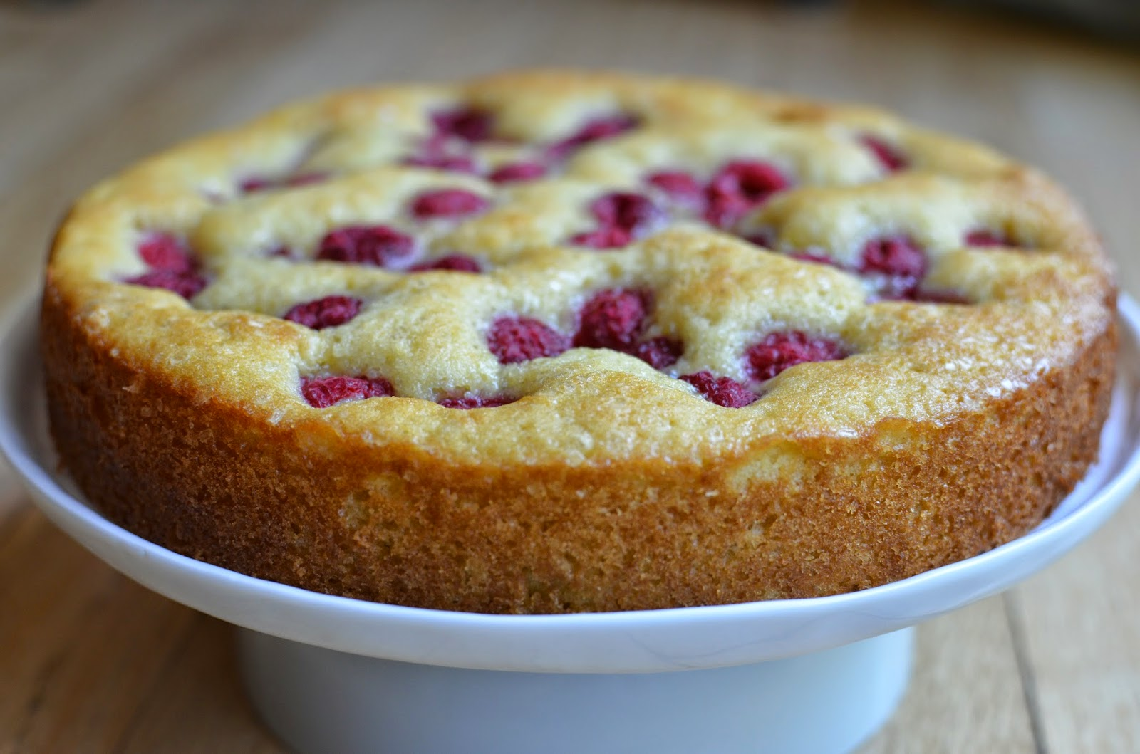 Playing with Flour: Raspberry buttermilk cake