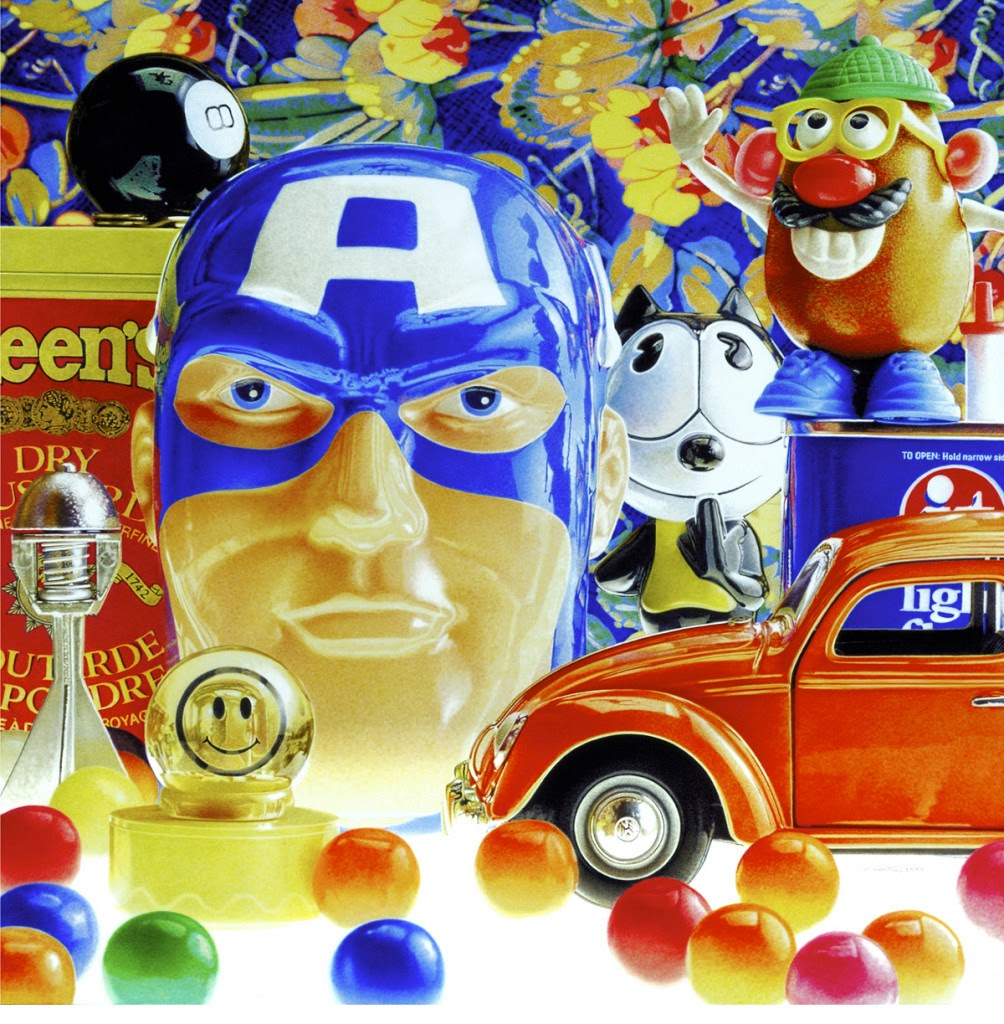 nuncalosabre. YHiperrealistic Paintings of Popculture Icons - François Chartier