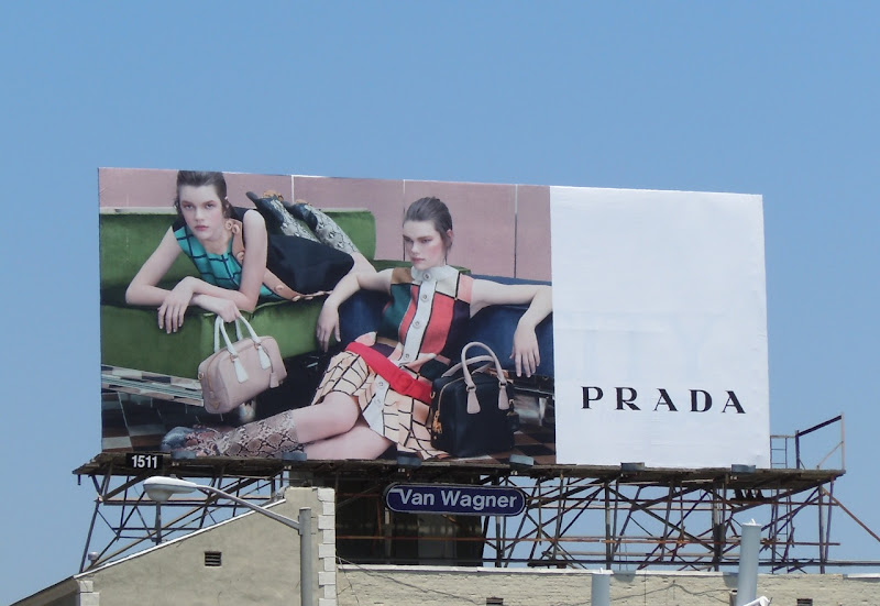 Prada Summer 2011 billboard
