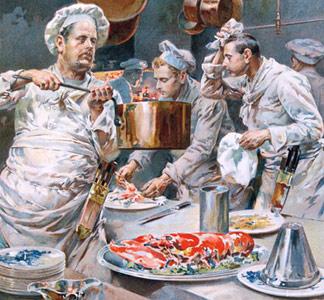 Cuisiniers p tissiers et hommes de gout du xixe for Cuisinier 7 lettres