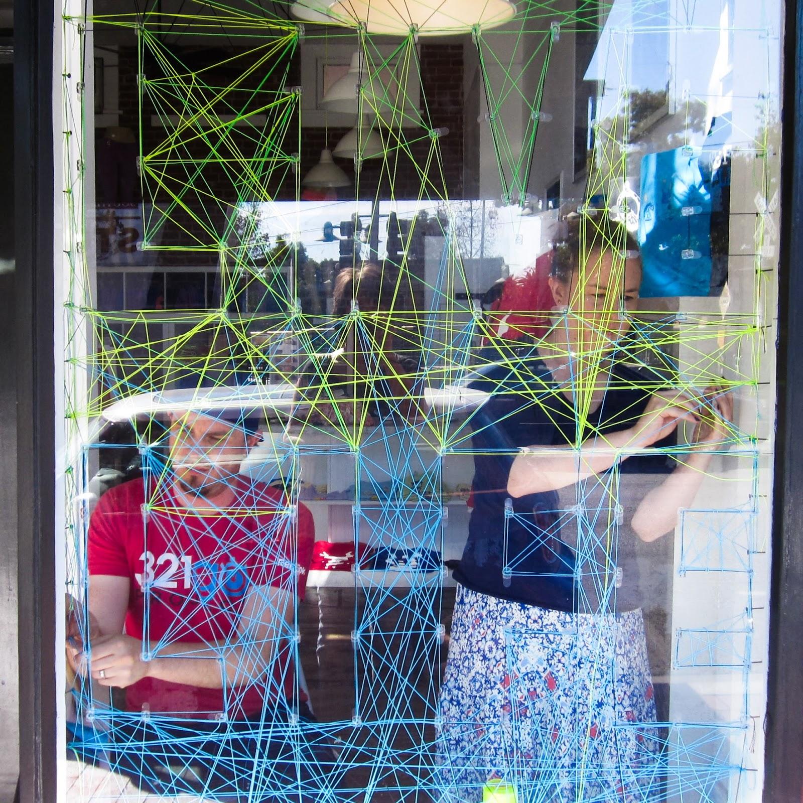 http://www.wodgearclothing.com/ collaborative string art with www.greenbugmarketplace.etsy.com