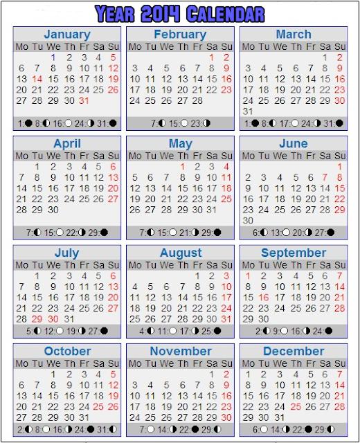 Kalender 2014 Malaysia