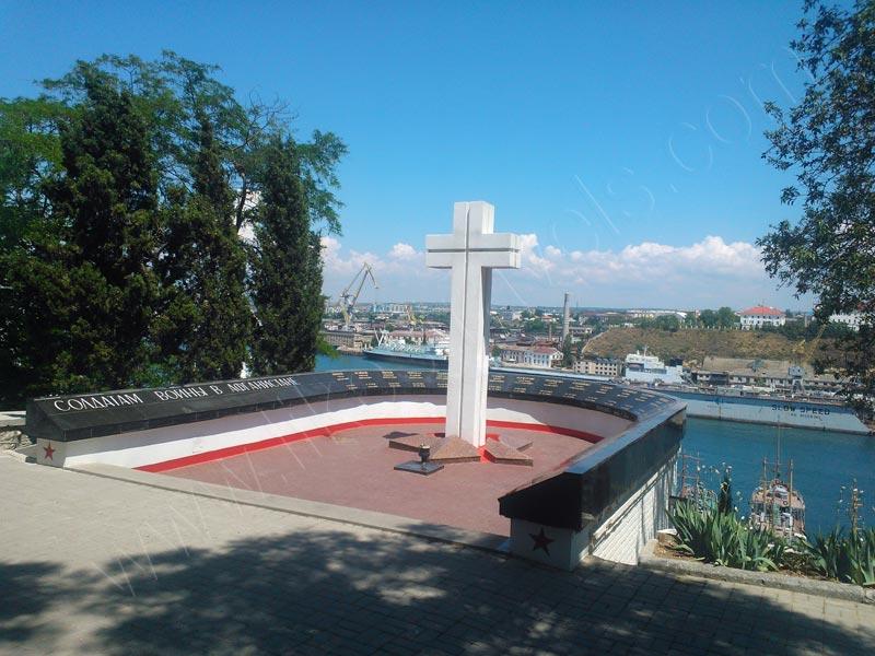 Afghanistan war memorial - Sevastopol