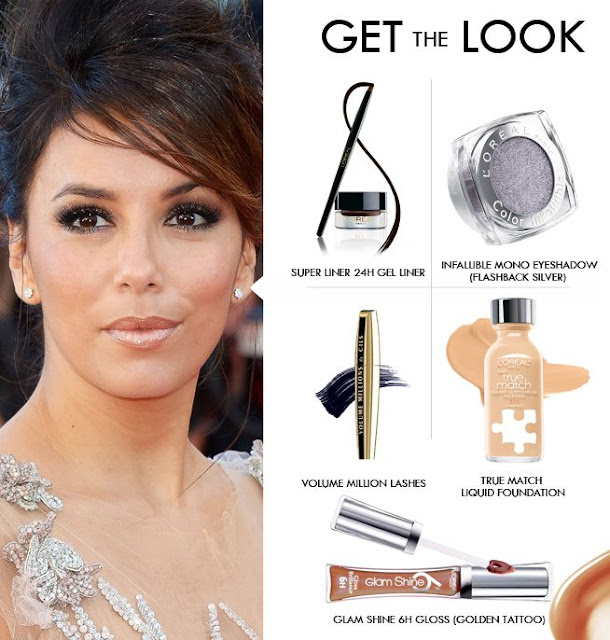 Eva Longoria Makeup Breakdown