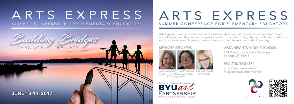 I'm presenting at the BYU Arts Express Conference