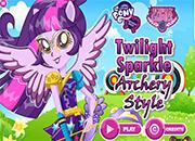 MLPEG Twilight Sparkle Archery Style