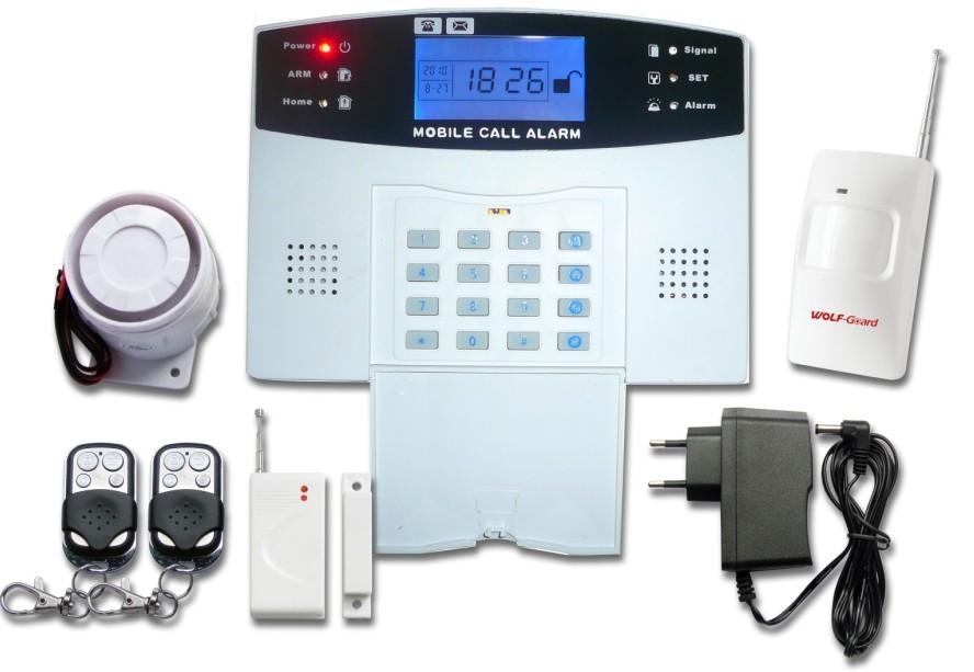 Wireless GSM Alarm Rumah