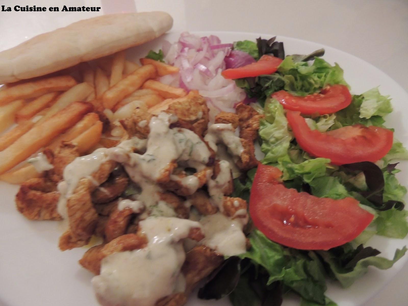 La cuisine en amateur de maryline assiette kebab for Assiette cuisine