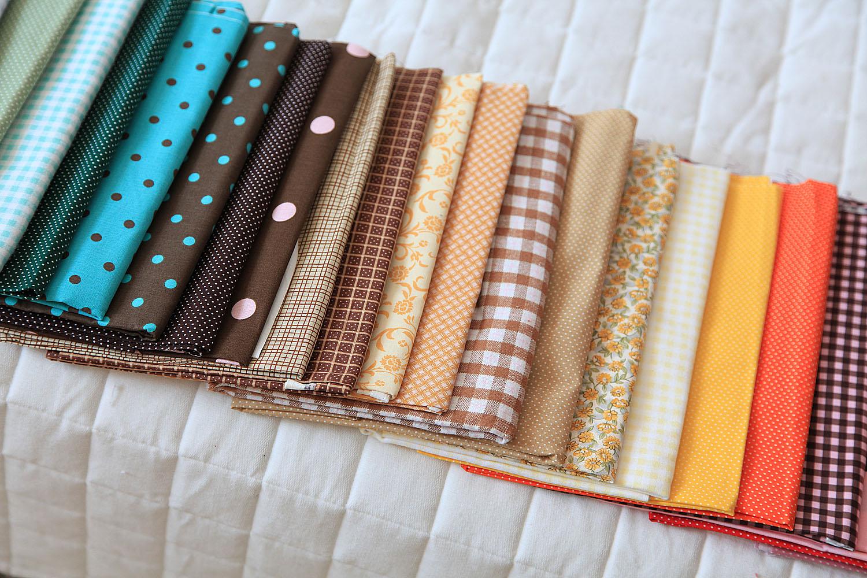 Красивая ткань для шитья