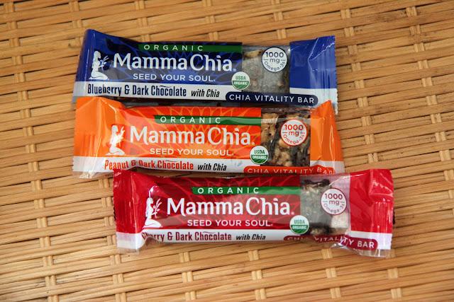 Mamma Chia Vitality Bars Review